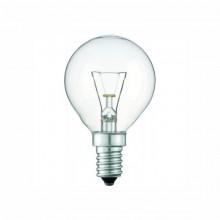 Лампа PHILIPS P-45 шар. прозрачная  60W Е14