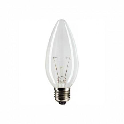 Лампа PHILIPS В-35 свеча прозрачная 40W Е27