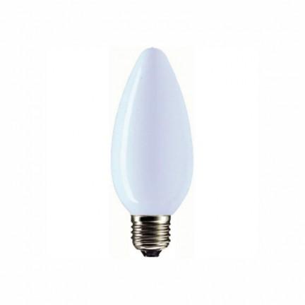 Лампа PHILIPS В-35 свеча матовая 60W Е27