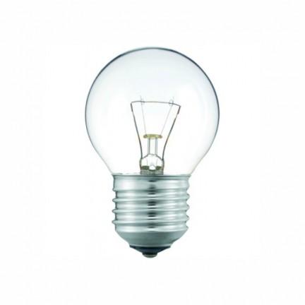 Лампа PHILIPS P-45 шар. прозрачная  60W Е27