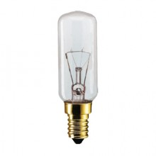 Лампа PHILIPS App T25L CL 40W Е14 CH прозрачная (вибрационная)