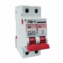 Автоматический выключатель RH 2p C 16A HN-401023