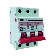 Автоматический выключатель RH 3p C 16A HN-401033