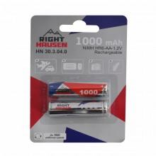 Аккумулятор RIGHT HAUSEN HR06 1000mAh блистер 1х2   HN-303040
