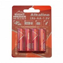Батарейка RIGHT HAUSEN LR06 щелочная блистер 1х4   HN-302020