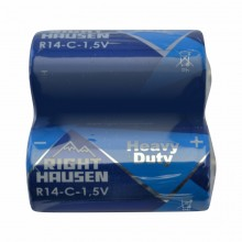 Батарейка RIGHT HAUSEN R14 солевая коробка 1х2   HN-301030