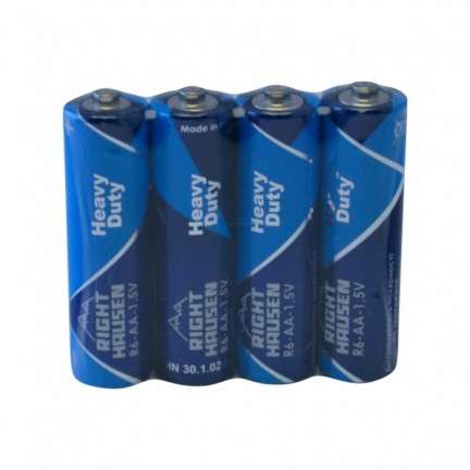 Батарейка RIGHT HAUSEN R06 солевая коробка 1х4   HN-301020