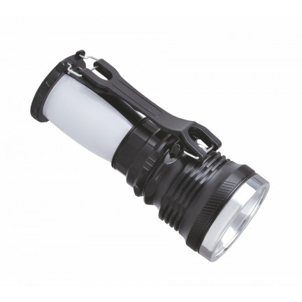 Фонарик RIGHT HAUSEN DOUBLE 1W + 28 SMD аккумулятор 800mAh HN-314052
