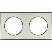 Рамка RIGHT HAUSEN LAURA 2-я вертикальная золото HN-015258
