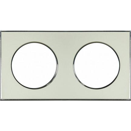 Рамка RIGHT HAUSEN LAURA 2-я горизонтальная золото HN-015258