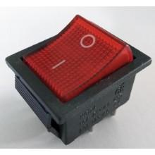 Кнопка RIGHT HAUSEN KCD4-201 N с подсветкой HN-482040 NEW