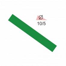 Термоусадочная трубка RIGHT HAUSEN 10,0/5 зеленая