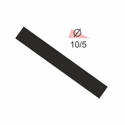 Термоусадочная трубка RIGHT HAUSEN 10,0/5 черная
