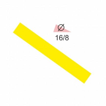 Термоусадочная трубка RIGHT HAUSEN 16,0/8 желтая