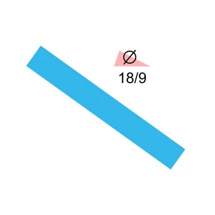Термоусадочная трубка RIGHT HAUSEN 18,0/9 синяя