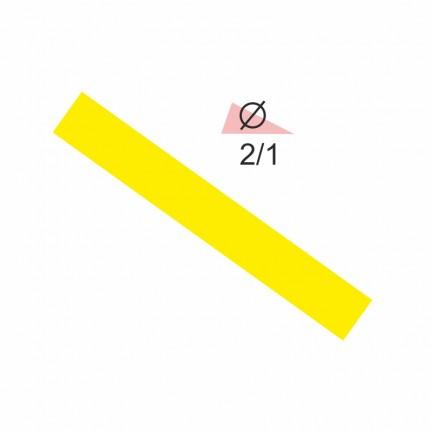 Термоусадочная трубка RIGHT HAUSEN  2,0/1 желтый