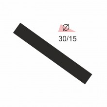 Термоусадочная трубка RIGHT HAUSEN  3,0/1,5 черная