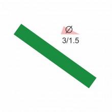 Термоусадочная трубка RIGHT HAUSEN  3,0/1,5 зеленая