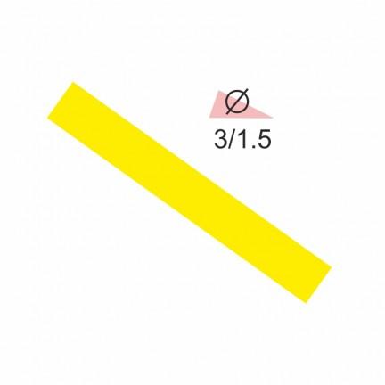 Термоусадочная трубка RIGHT HAUSEN 3,0/1,5 желтая