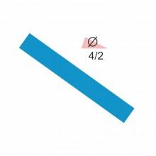 Термоусадочная трубка RIGHT HAUSEN  4,0/2 синяя