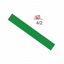 Термоусадочная трубка RIGHT HAUSEN  4,0/2 зеленая