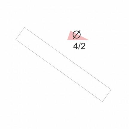 Термоусадочная трубка RIGHT HAUSEN  4,0/2 белая