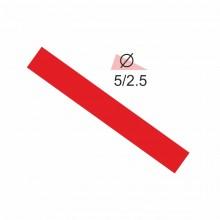 Термоусадочная трубка RIGHT HAUSEN  5,0/2,5 красная