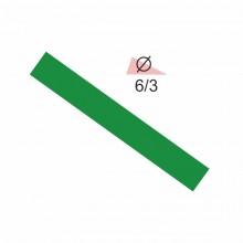 Термоусадочная трубка RIGHT HAUSEN  6,0/3 зеленая