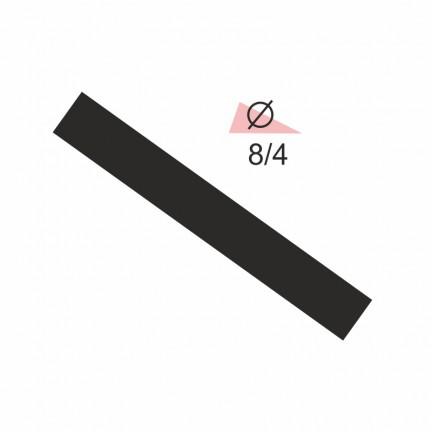 Термоусадочная трубка RIGHT HAUSEN  8,0/4 черная
