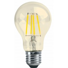 Лампа RIGHT HAUSEN LED Platinum Filament А60 8W E27 4000K  золотая HN-261021 NEW