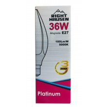 Лампа RIGHT HAUSEN LED Platinum MAGNOLIA 36W E27 5000K  HN-158032