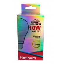 АКЦИЯ Лампа RIGHT HAUSEN LED Platinum A60 10W E27 4000K HN-281010