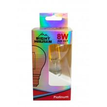 Лампа RIGHT HAUSEN LED Platinum Filament А60 8W E27 4000K золотая HN-261021 NEW