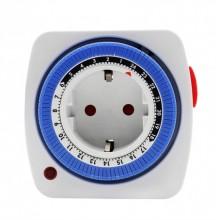 Таймер механический суточный с промежутком 15 минут HN-063021