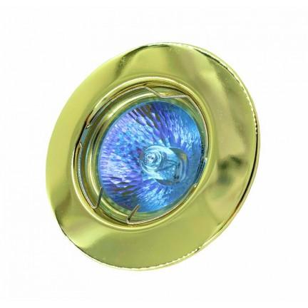 Светильник встраиваемый RIGHT HAUSEN MR16 золото HN-276018 NEW