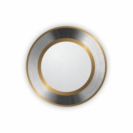 Светильник встраиваемый LED PANEL RIGHT HAUSEN круг CLASSIC 5W 4000K IP20 хром/золото