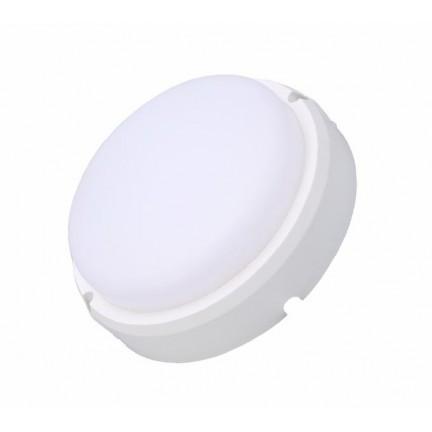 Светильник настенный RIGHT HAUSEN LED круг 20W 6000K IP65 белый матовый HN-223252 NEW