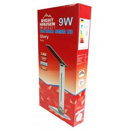 Настольная лампа RIGHT HAUSEN LED GLORY 9W белая HN-245211