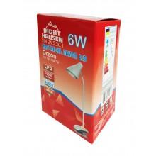 Настольная лампа RIGHT HAUSEN LED OREON 6W прищепка HN-245201