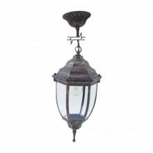 Светильник парковый RIGHT HAUSEN (металл / античное золото) 6 округлых граней 60W E27 ЦЕПЬ