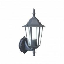 Светильник парковый RIGHT HAUSEN (металл / стекло / черный) 6 граней 60W E27 (вверх)