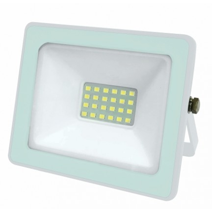 АКЦИЯ Прожектор RIGHT HAUSEN SOFT LED 20W 6500K IP65 белый HN-191102