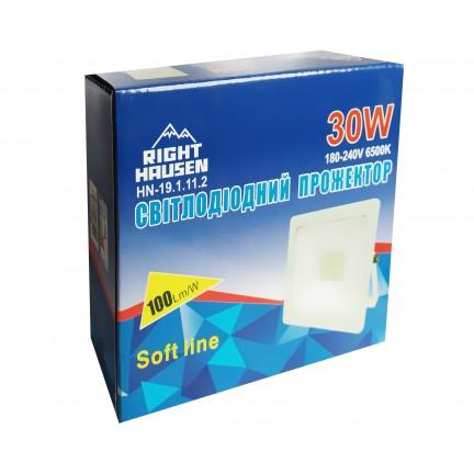 Прожектор RIGHT HAUSEN SOFT LED 30W 6500K IP65 белый HN-191112