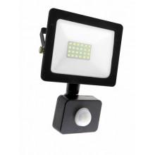 Прожектор RIGHT HAUSEN SOFT LED 20W 6500K IP65 черный с датчиком движения HN-191132