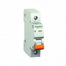 Автоматический выключатель SCHNEIDER ВА63 1Р  6А 1пол С 11201