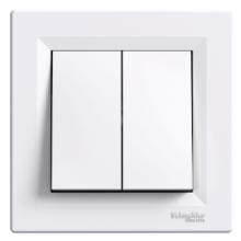 Выключатель SCHNEIDER ASFORA 2-й внутренний белый ЕРН0300121