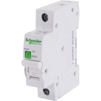 Автоматический выключатель SCHNEIDER RESI9 1Р 25А С R9F12125