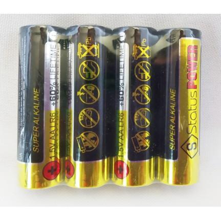 Батарейка Status Power щелочная LR06, АА