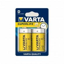Батарейка VARTA SUPERLIFE R-20 D BL 2 ZINC-CARBON