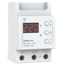 Реле напряжения ZUBR D63 термозащита